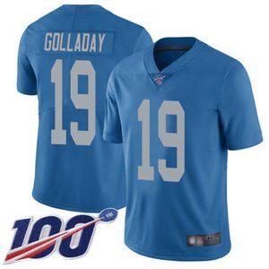 Detroit Lions Kenny Golladay 100th Season Jersey 1